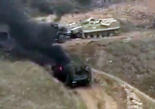 Bojové akce v Náhorním Karabachu