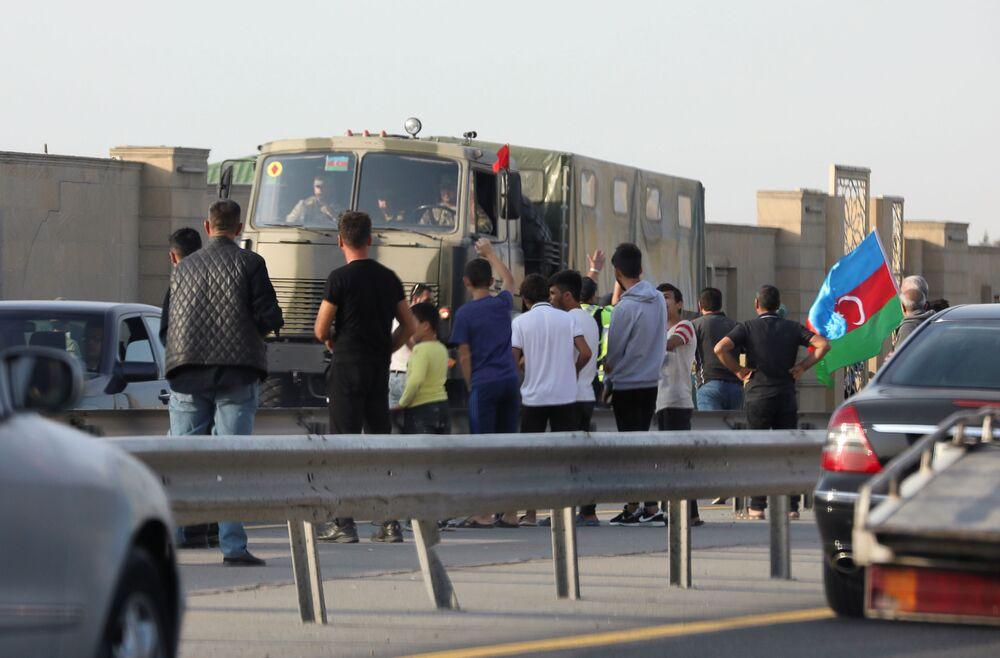 Arménský velvyslanec oznámil přesun tureckých vojáků ze Sýrie do Náhorního Karabachu.