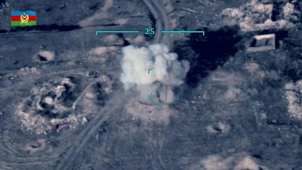 Ázerbájdžánské ministerstvo obrany tvrdí, že na straně Arménie bojují žoldáci ze Středního východu.