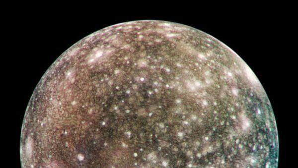 Callisto, též Jupiter IV,  měsíc Jupiteru  - Sputnik Česká republika