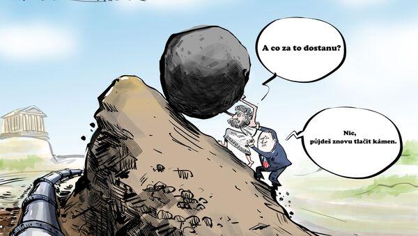 Karikatura Sisyfovská práce - Sputnik Česká republika