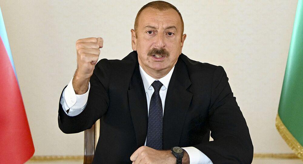 Ázerbájdžánský prezident Ilham Alijev