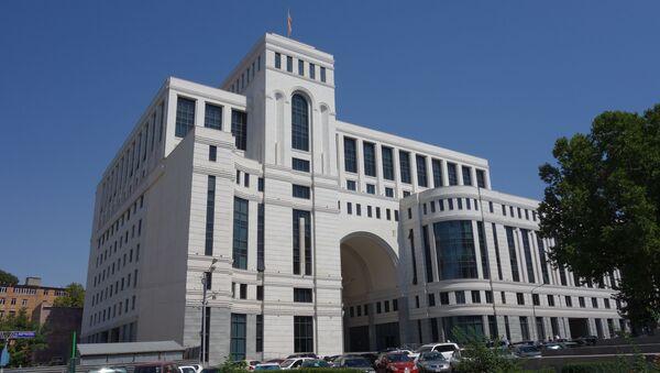 Budova ministerstva zahraničí v Jerevanu - Sputnik Česká republika