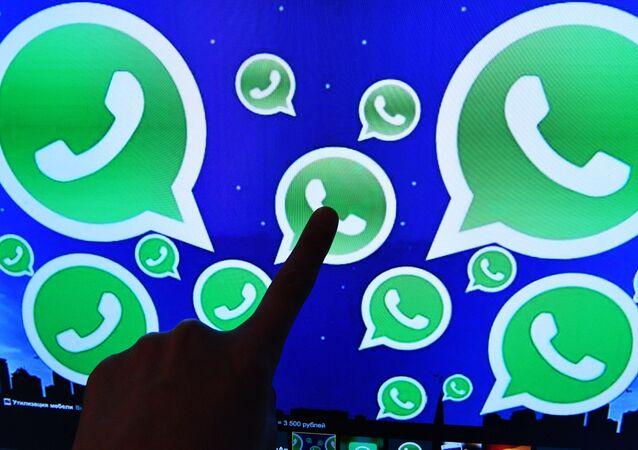 Logo messengeru WhatsApp