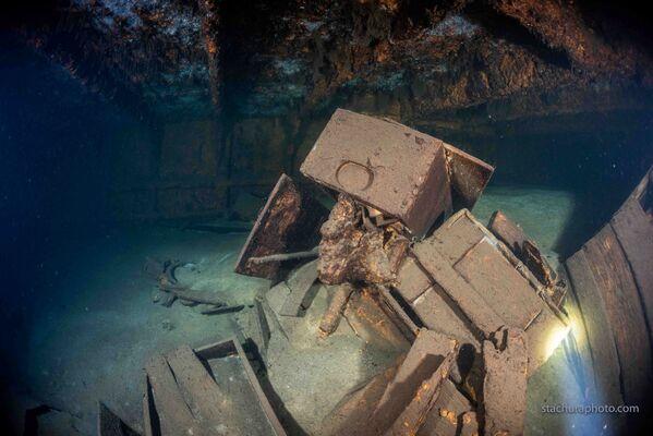 Nález polských potápěčů během pátrací operace v Baltském moři - Sputnik Česká republika