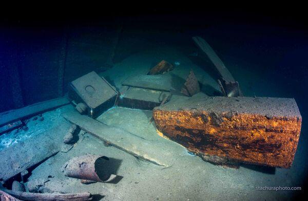 Na dně potopené lodě z dob druhé světové války - Sputnik Česká republika