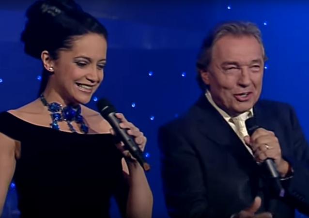 Lucie Bílá a Karel Gott