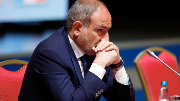Arménský předseda vlády Nikol Pašiňan - Sputnik Česká republika