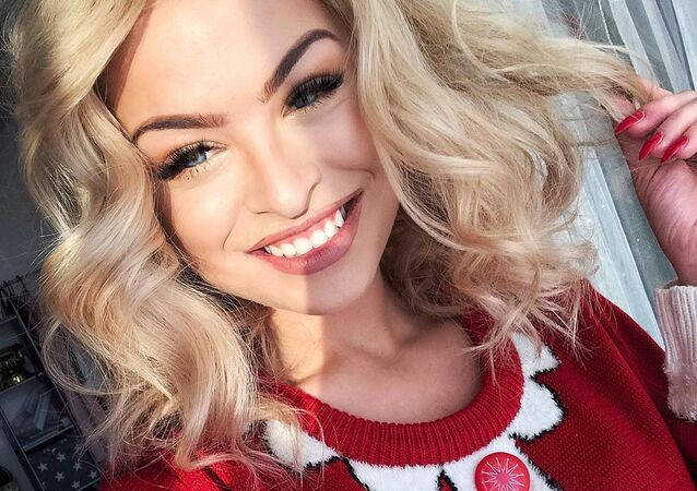 Česká modelka Kristýna Kubíčková