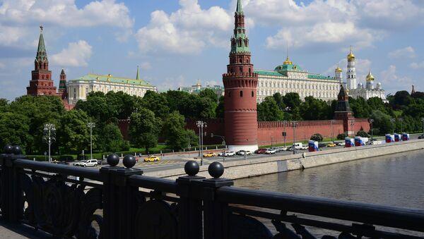 Kremlevská nábřeží v Moskvě - Sputnik Česká republika