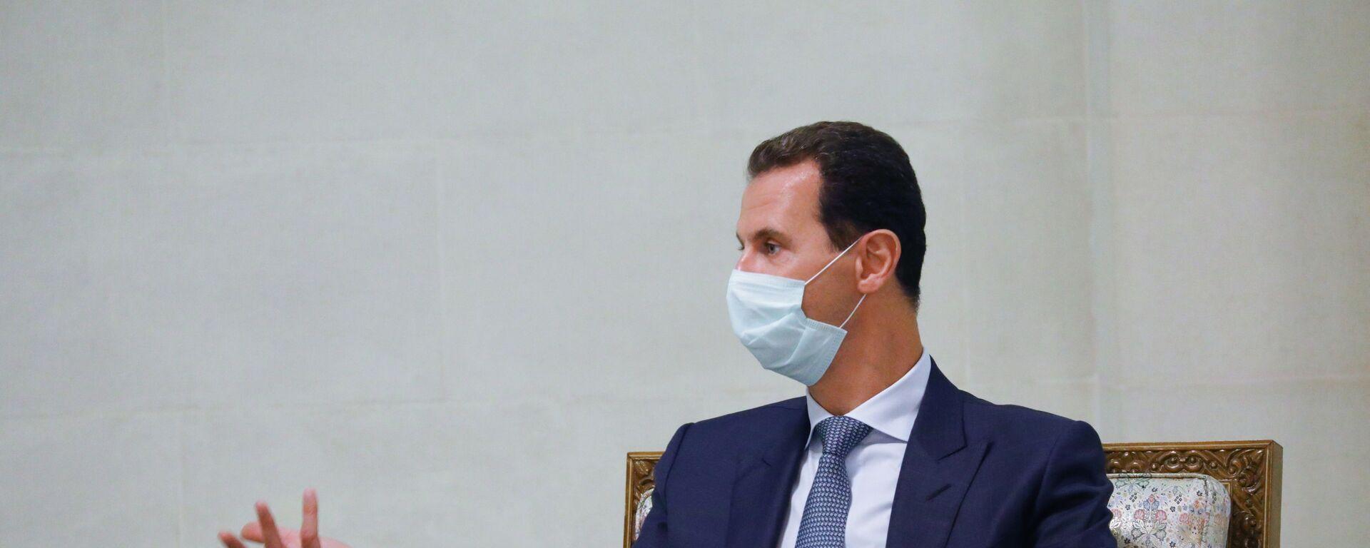 Syrský prezident Bašár Asad - Sputnik Česká republika, 1920, 03.06.2021