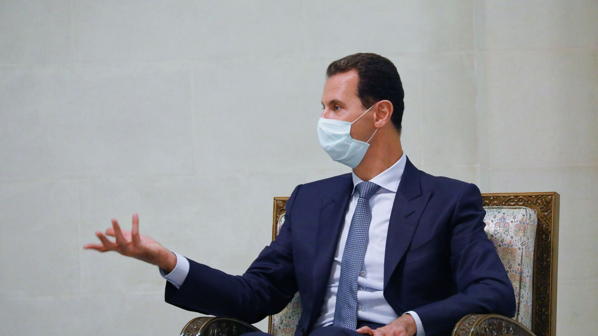 Syrský prezident Bašár Asad - Sputnik Česká republika, 1920, 08.03.2021