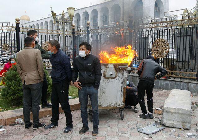 Protesty v Biškeku