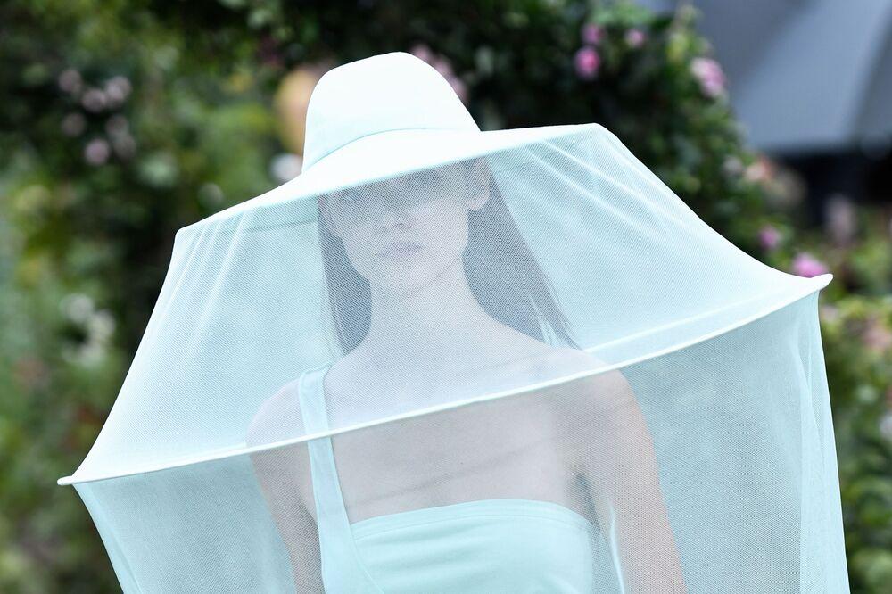 Přehlídka nové kolekce Kenzo během pařížského týdne módy.