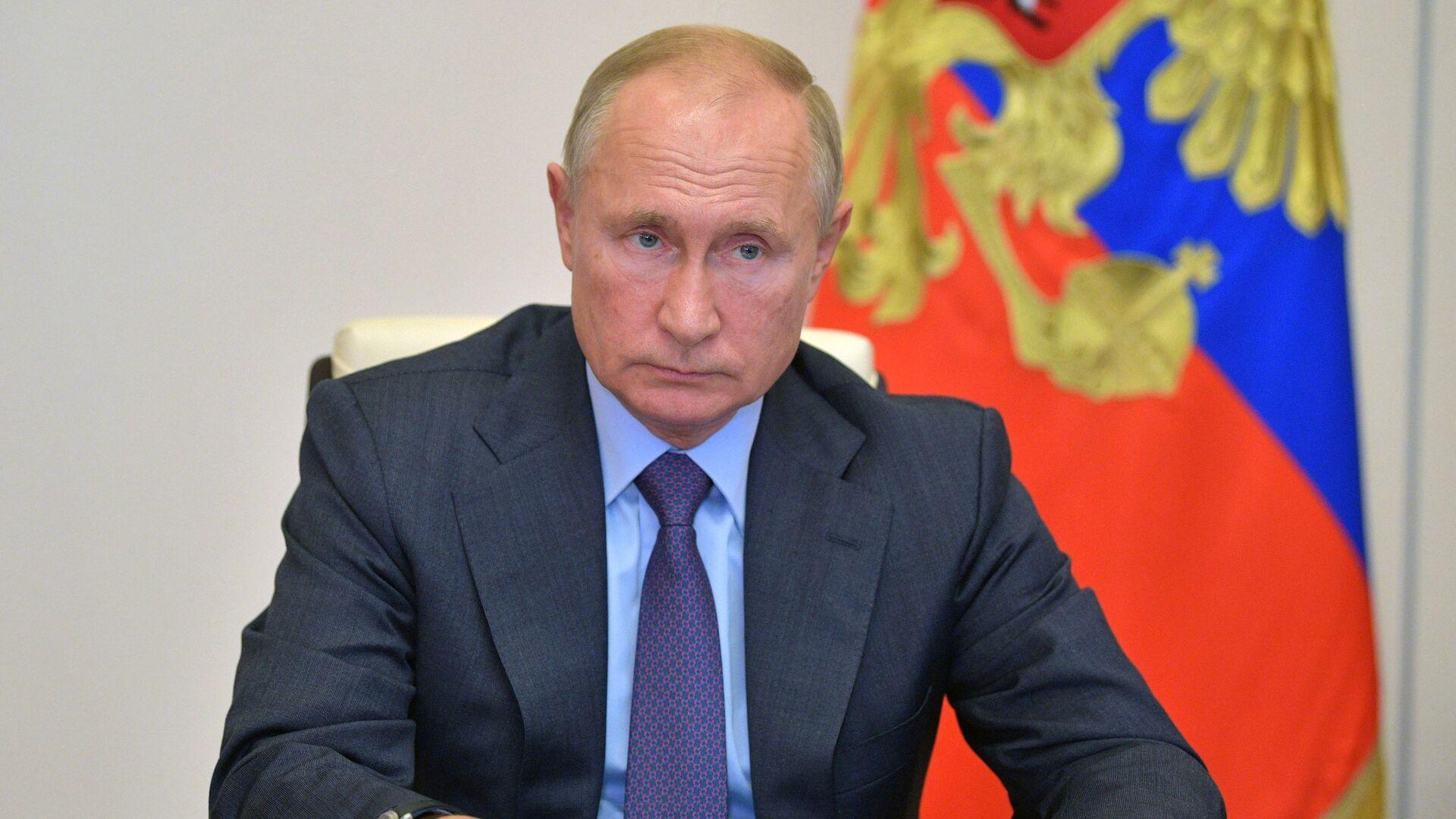 Ruský prezident Vladimir Putin - Sputnik Česká republika, 1920, 22.08.2021