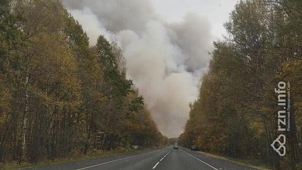 V Rjazaňské oblasti došlo k požáru skladu zbraní - Sputnik Česká republika
