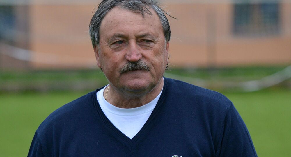 Bývalý fotbalista Antonín Panenka