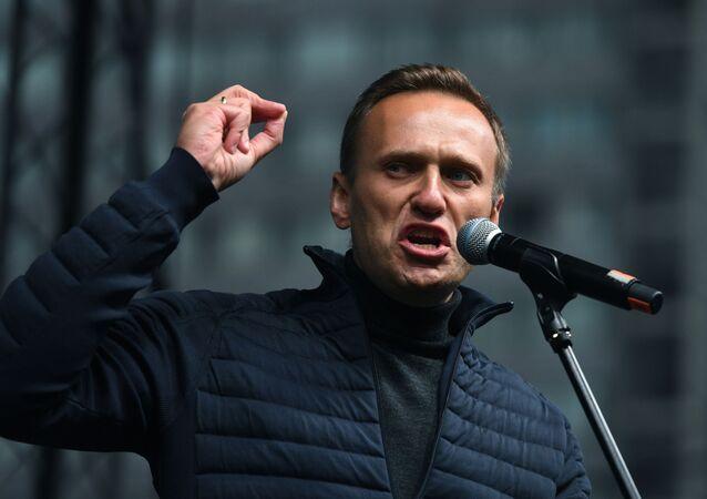 Ruský opozičník Alexej Navalného