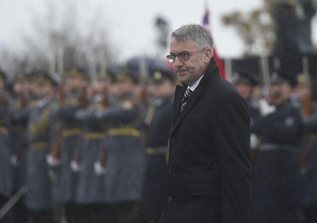 Ministr obrany ČR Lubomír Metnar