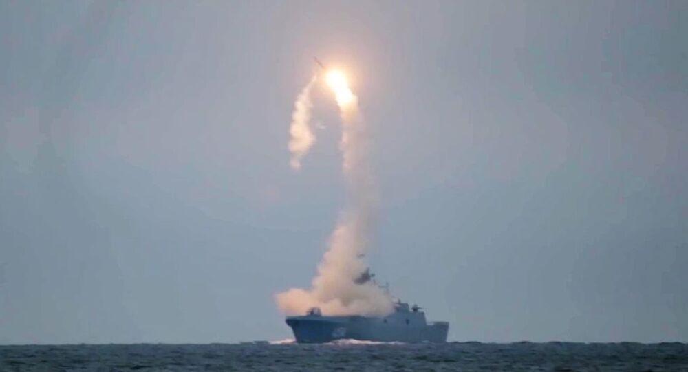 Testy rakety Cirkon