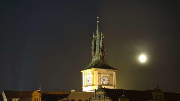 Noční Praha. Ilustrační foto - Sputnik Česká republika
