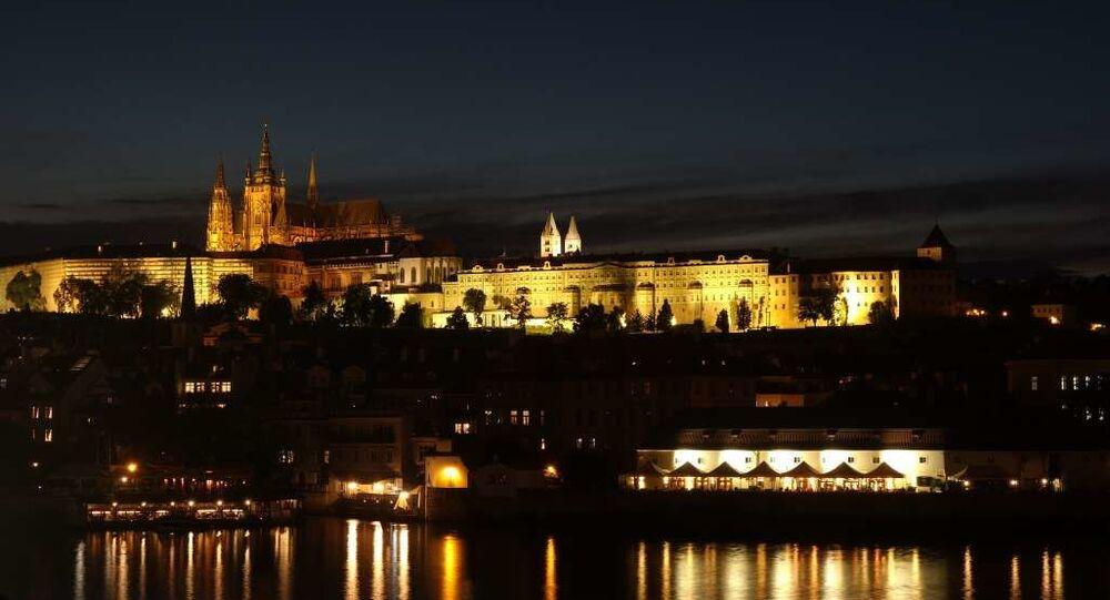 Výhled na Pražský hrad. Ilustrační foto