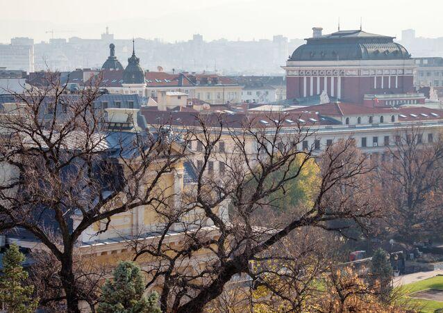 Pohled na Sofii