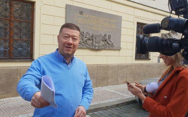 Tomio Okamura. Obr. č.3 - Sputnik Česká republika