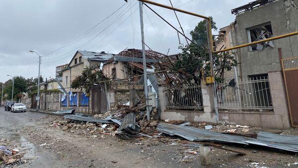 Situace v Náhorním Karabachu - Sputnik Česká republika