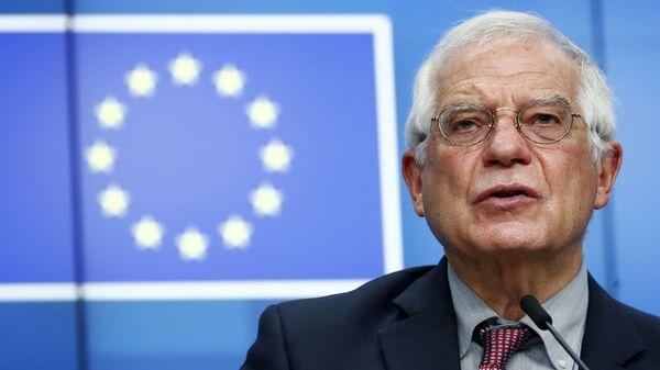 Vysoký představitel Unie pro zahraniční věci a bezpečnostní politiku Josep Borrell - Sputnik Česká republika