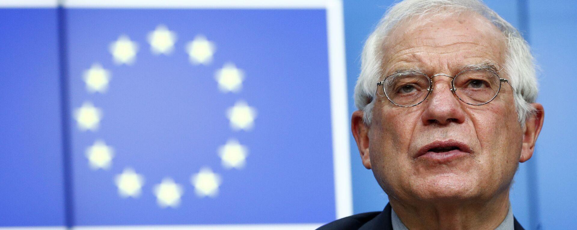 Vysoký představitel Unie pro zahraniční věci a bezpečnostní politiku Josep Borrell - Sputnik Česká republika, 1920, 10.05.2021