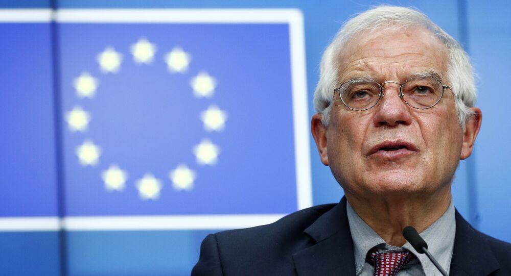 Vysoký představitel Unie pro zahraniční věci a bezpečnostní politiku Josep Borrell