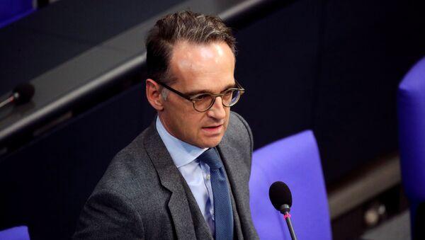 Německý ministr zahraničí Heiko Maas v Berlíně - Sputnik Česká republika