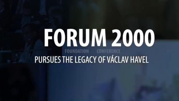 Probíhá druhý den 24. ročníku mezinárodní konference Forum 2000 - Sputnik Česká republika