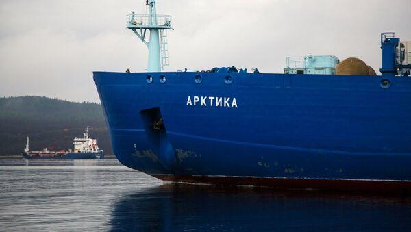 Ledoborec Arktika v Murmansku. Ilustrační foto - Sputnik Česká republika
