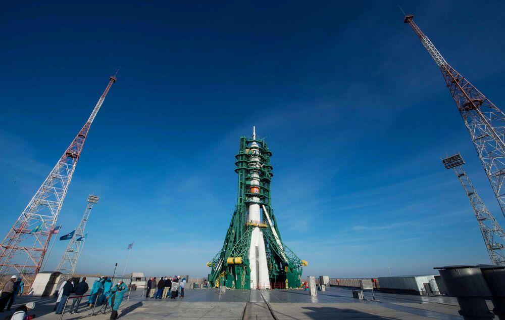 Raketa Sojuz-2.1a byla vypuštěna v 8:45 moskevského času.