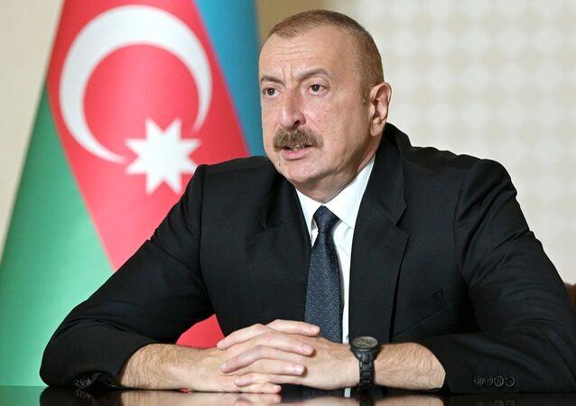 Ázerbájdžásnký prezident Ilham Alijev