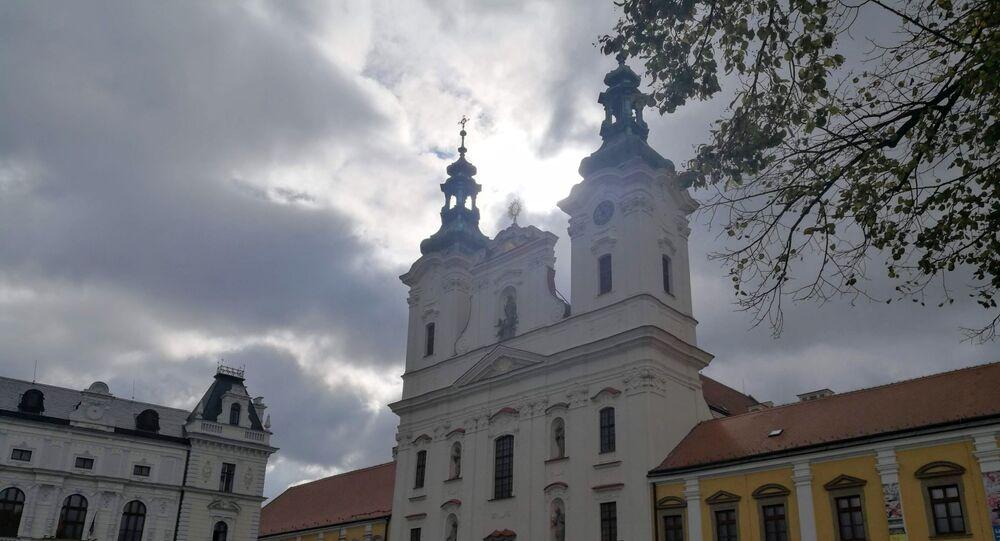 Náměstí v Uherském Hradišti. Ilustrační foto
