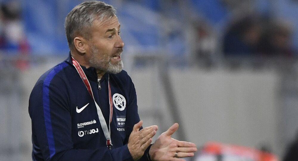 Bývalý trenér slovenské fotbalové reprezentace Pavel Hapal