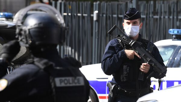 Policie v Paříži - Sputnik Česká republika