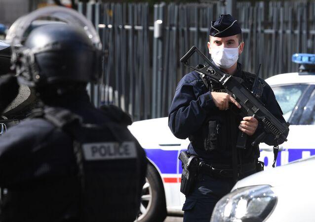 Policie v Paříži