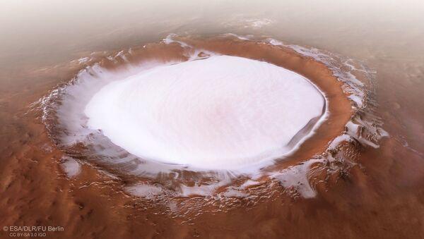 Korolevův kráter na Marsu - Sputnik Česká republika