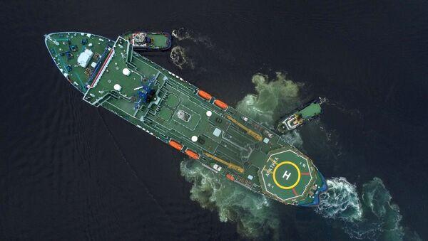 Jaderný ledoborec Arktika v Murmansku - Sputnik Česká republika