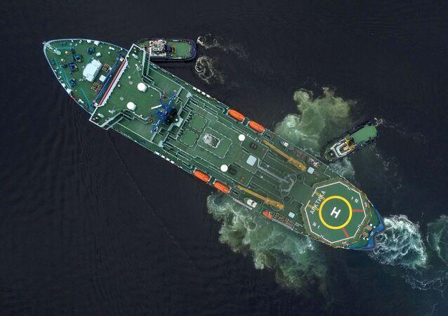 Jaderný ledoborec Arktika v Murmansku