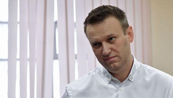 Ruský opoziční aktivista Alexej Navalnyj - Sputnik Česká republika