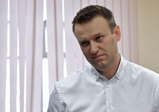 Ruský opoziční aktivista Alexej Navalnyj