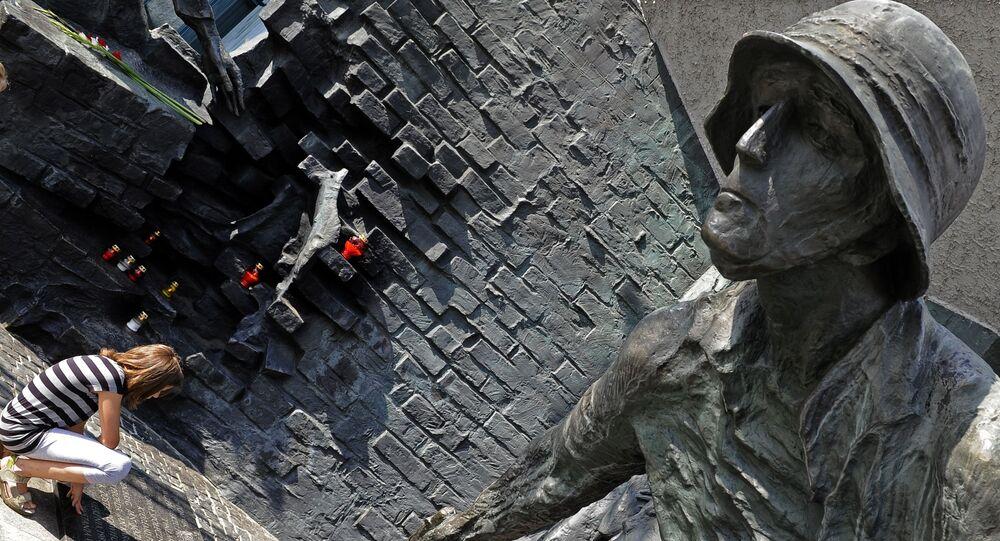 Památník hrdinům Varšavského povstání