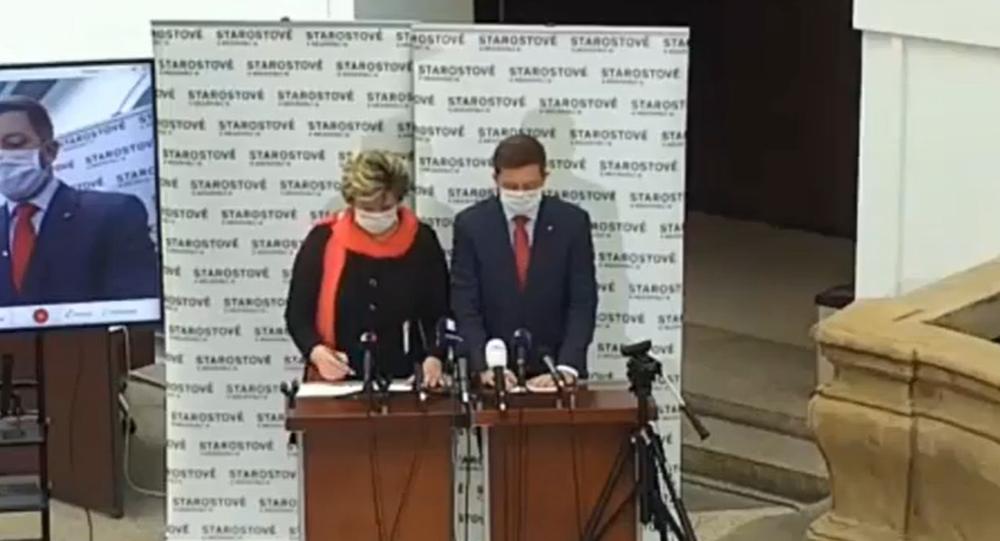 V Praze probíhá tisková konference poslaneckých klubů před schůzí Sněmovny