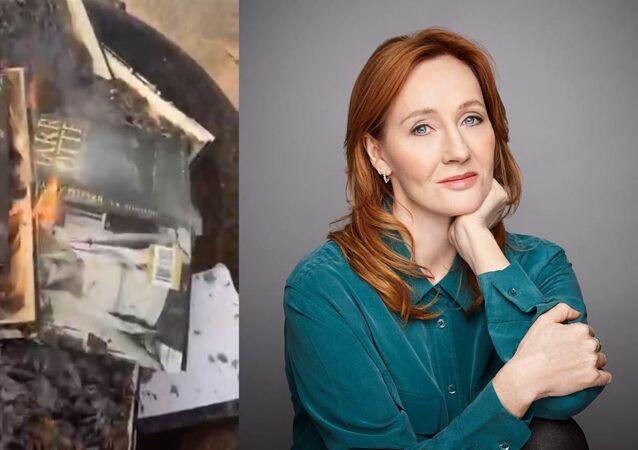 """Fanoušci a herci Harry Pottera obviňují Joanne Rowlingovou z transfobie za slovo """"žena"""""""