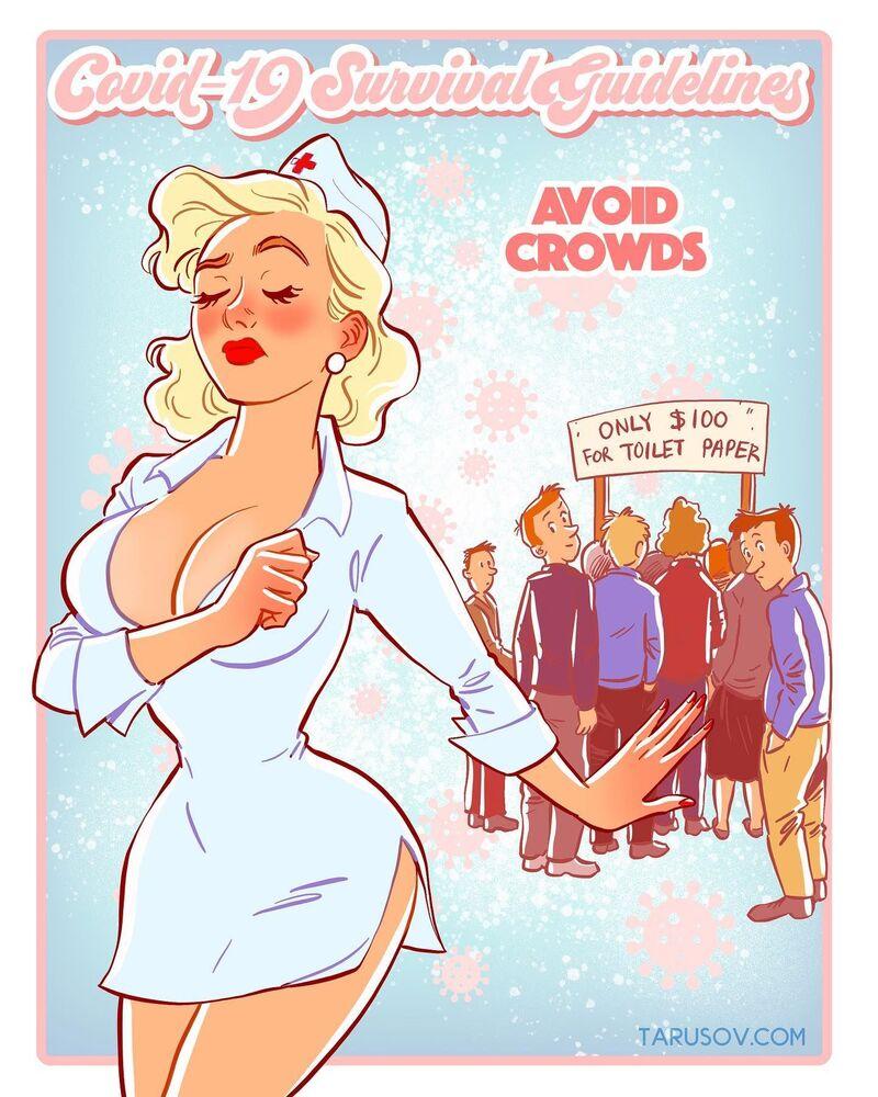 Vyhýbejte se davům!